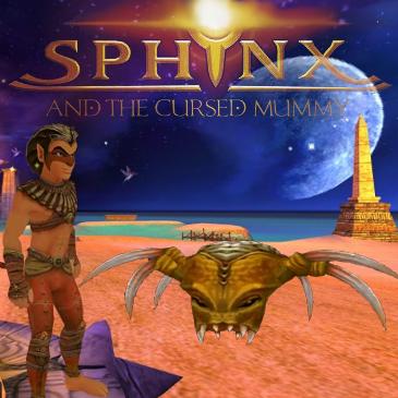 "Spotlight on ""Sphinx and the Cursed Mummy"""